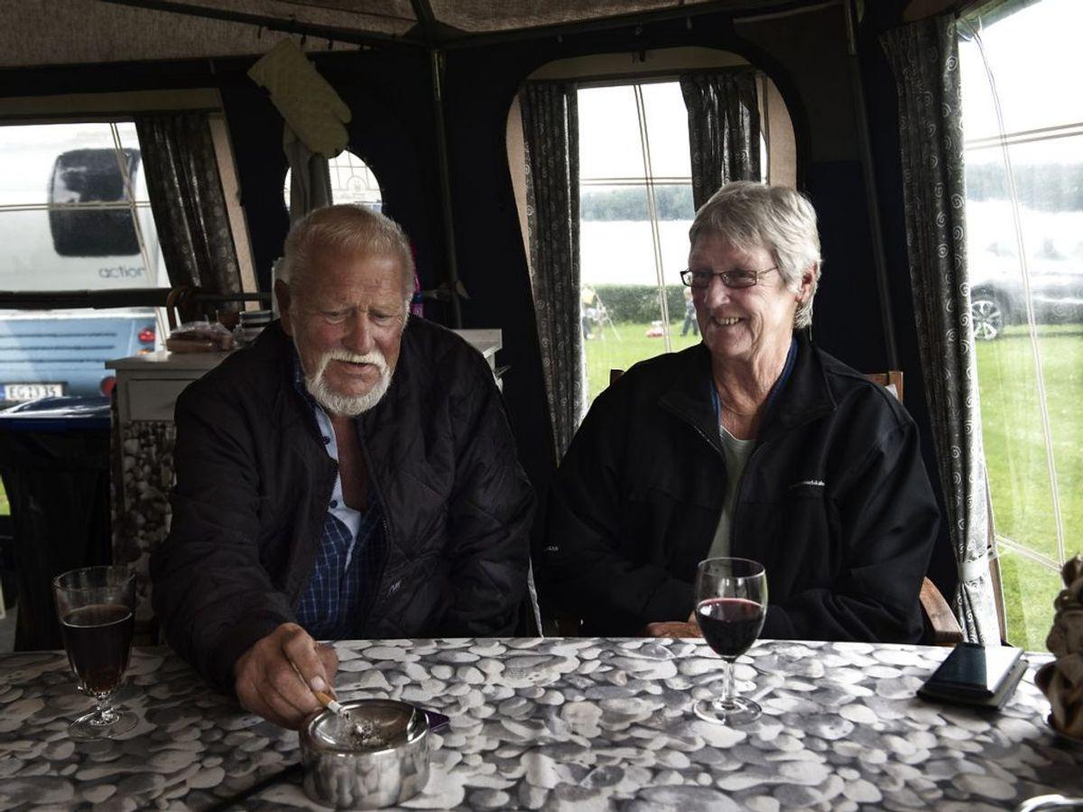 Sønderborg Kommune har udklækket hele fire lottomillionærer. Her ses John Vincent Nilsson, der i 2016 vandt 12, 5 millioner kroner i Lotto. Nogle af de penge brugte han på at købe en campingplads. Foto: Ida Guldbæk Arentsen/Ritzau Scanpix.