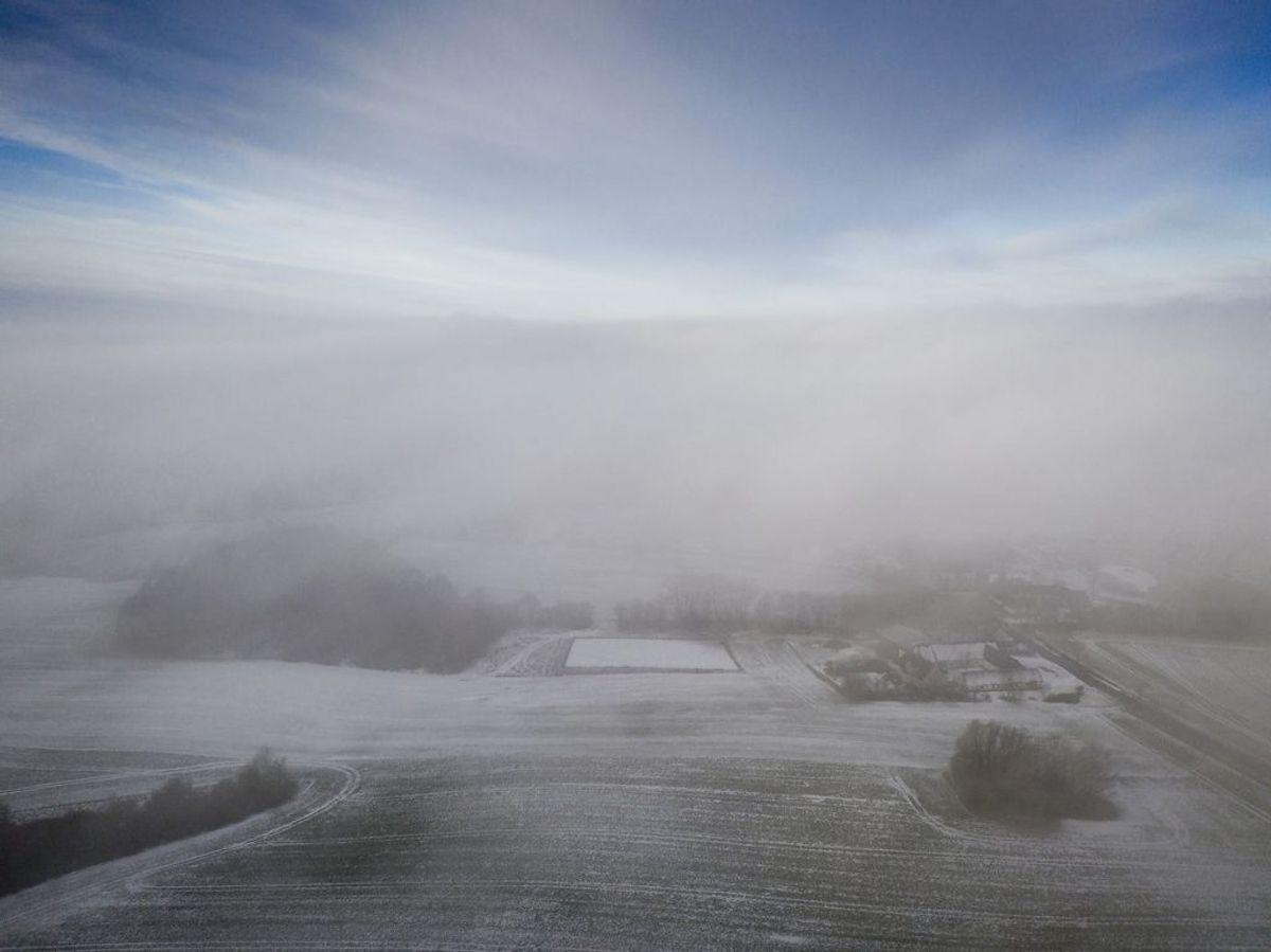 Det bliver koldt lørdag. KLIK for mere info. (Foto: Mads Claus Rasmussen/Ritzau Scanpix)