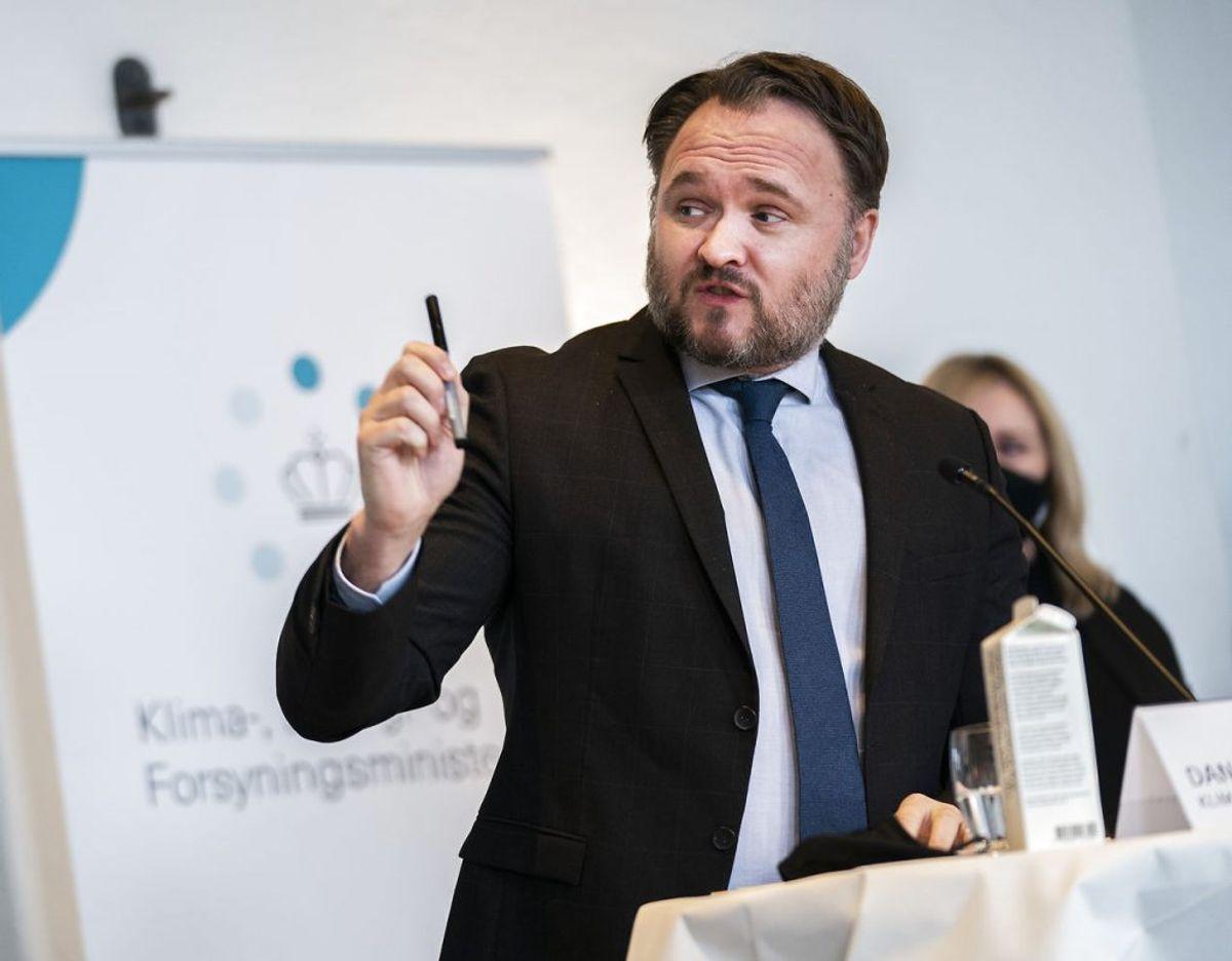 Dan Jørgensen er bekymret over det danske forbrug af biomasse. (Foto: Martin Sylvest/Ritzau Scanpix 2021)