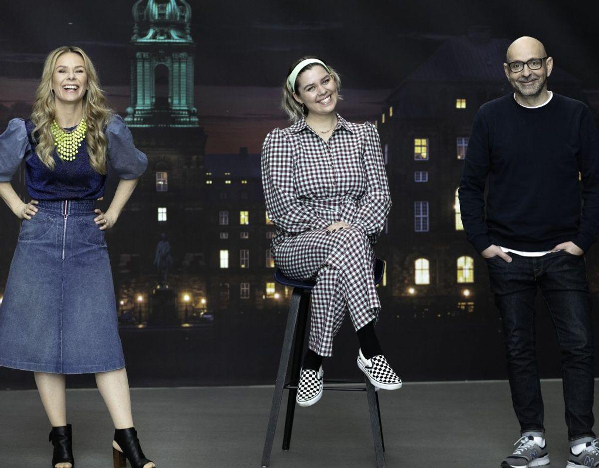 Anna Lin bliver ny vært på 'Kender Du Typen? i selskab med Anne Glad og Flemming Møldrup. Foto: Bjarne Bergius Hermansen)