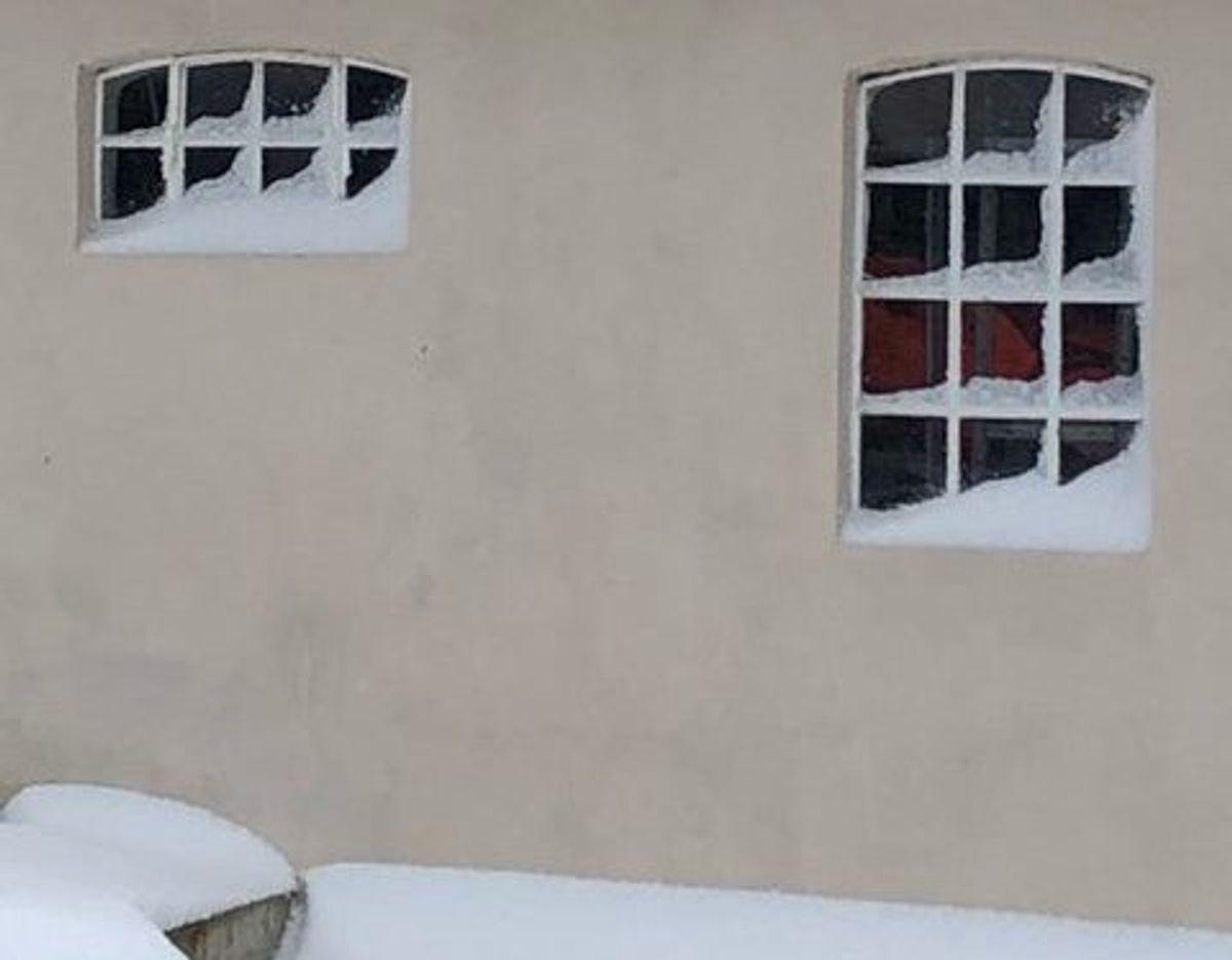 Maybrit Jørgensen fra Kolding kalder dette: Snevejr som i gamle dage.