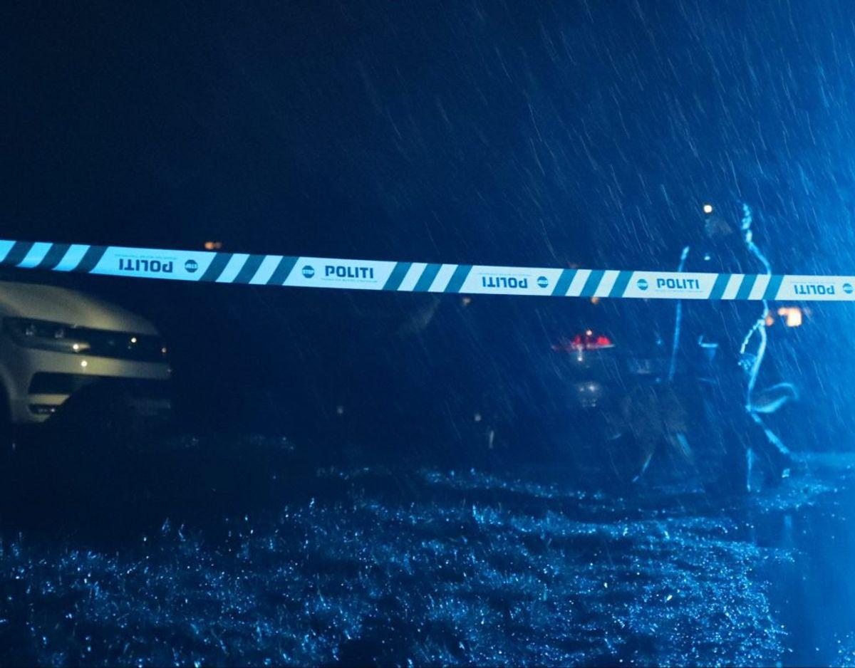 Yamma Ahmadzai blev fundet døende på vejen ud for bostedet. Foto: Presse-fotos.dk