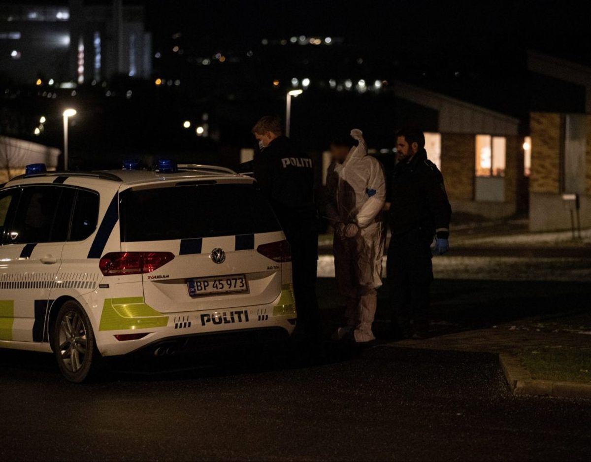 Her er billedet af den 24-årige mand, der er blevet anholdt. Foto: Rasmus Skaftvad.