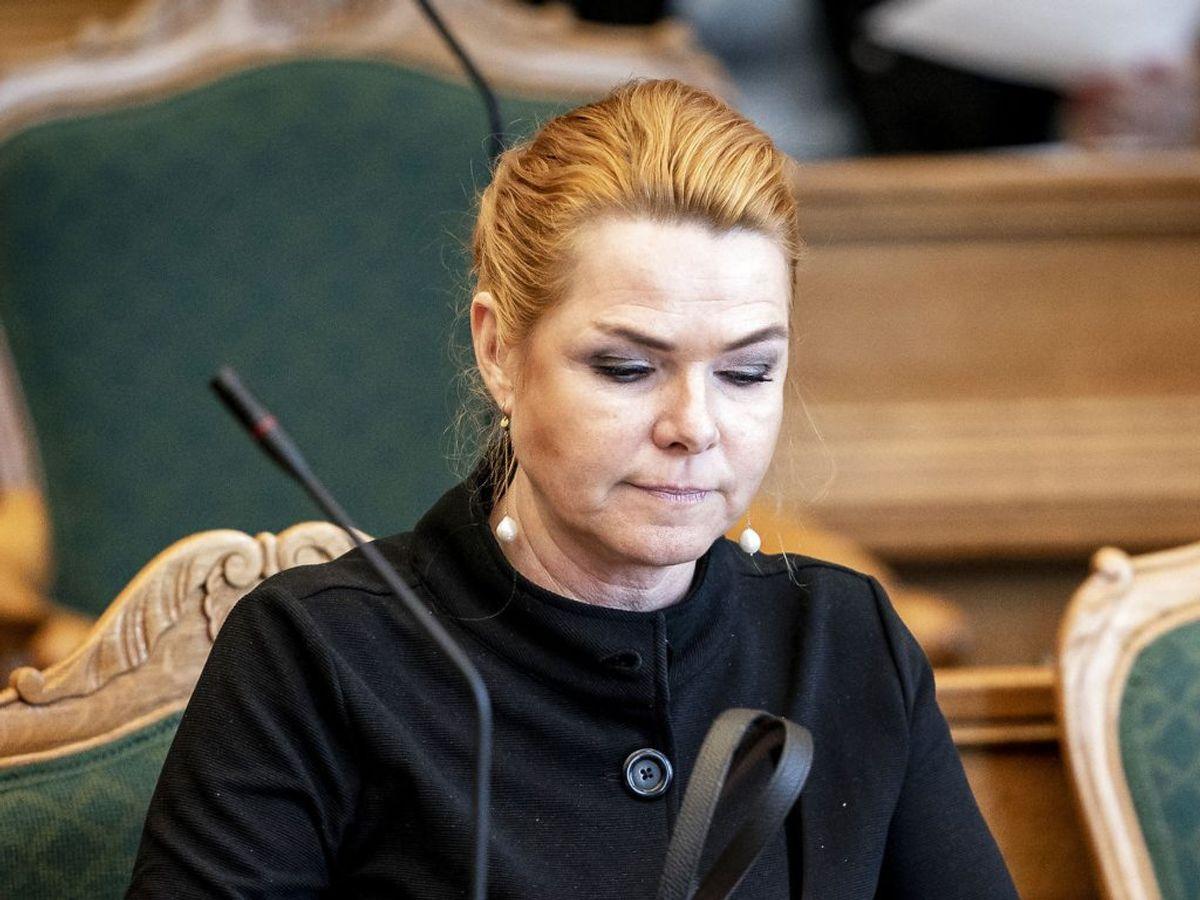 Inger Støjberg melder sig ud af Venstre og fortsætter som løsgænger i Folketinget. Det siger hun til Skive Folkeblad. (Foto: Mads Claus Rasmussen/Ritzau Scanpix)