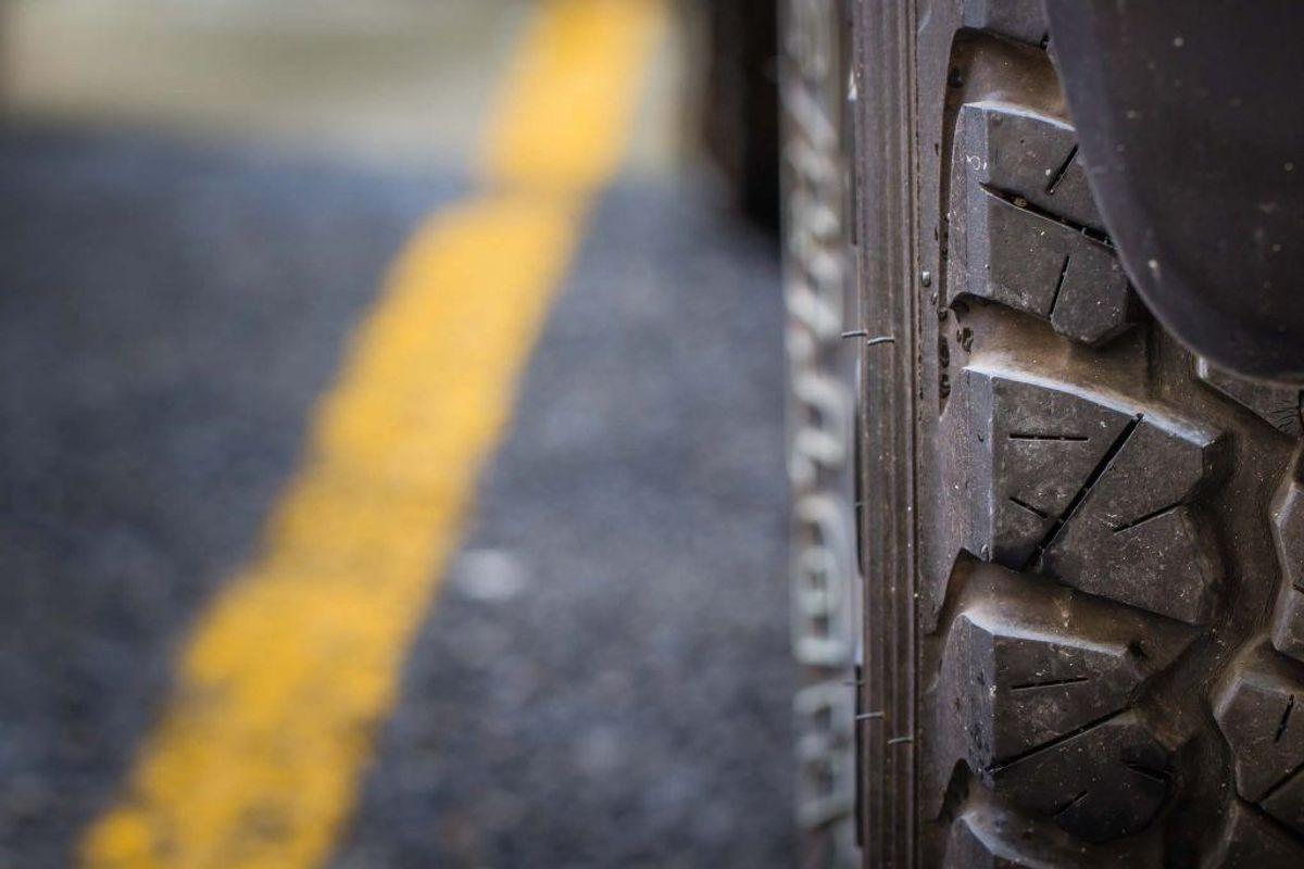 Sørg for, at dækkene er monteret korrekt i forhold til omløbsretning. Foto: Ritzau Scanpix