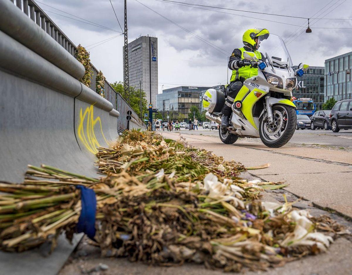 Magnus Buhl Hansens bil var en af flere, der blev ramt i den tragiske ulykke. Foto: Scanpix