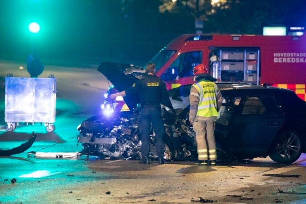 En 35-årig betjent mistede i juli 2019 livet på Langebro på grund af vanvidskørsel. KLIK FOR FLERE BILLEDER. Foto: Presse-fotos.dk