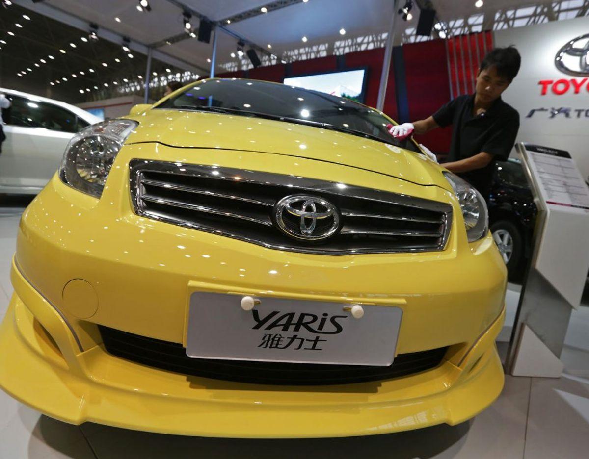 9) Toyota Yaris – 231 solgte. Foto: Scanpix