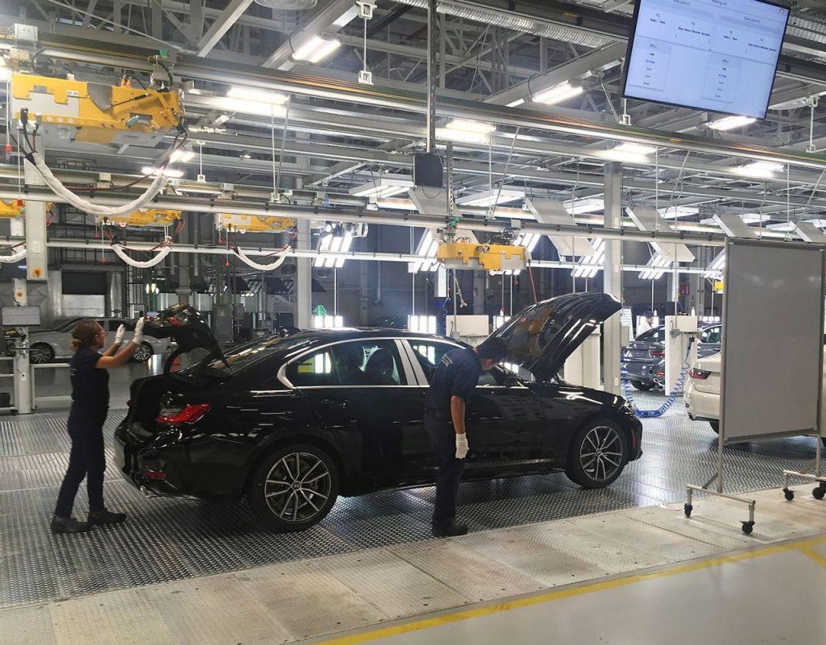 3) BMW 3'er serien – 299 solgte. Foto: Scanpix