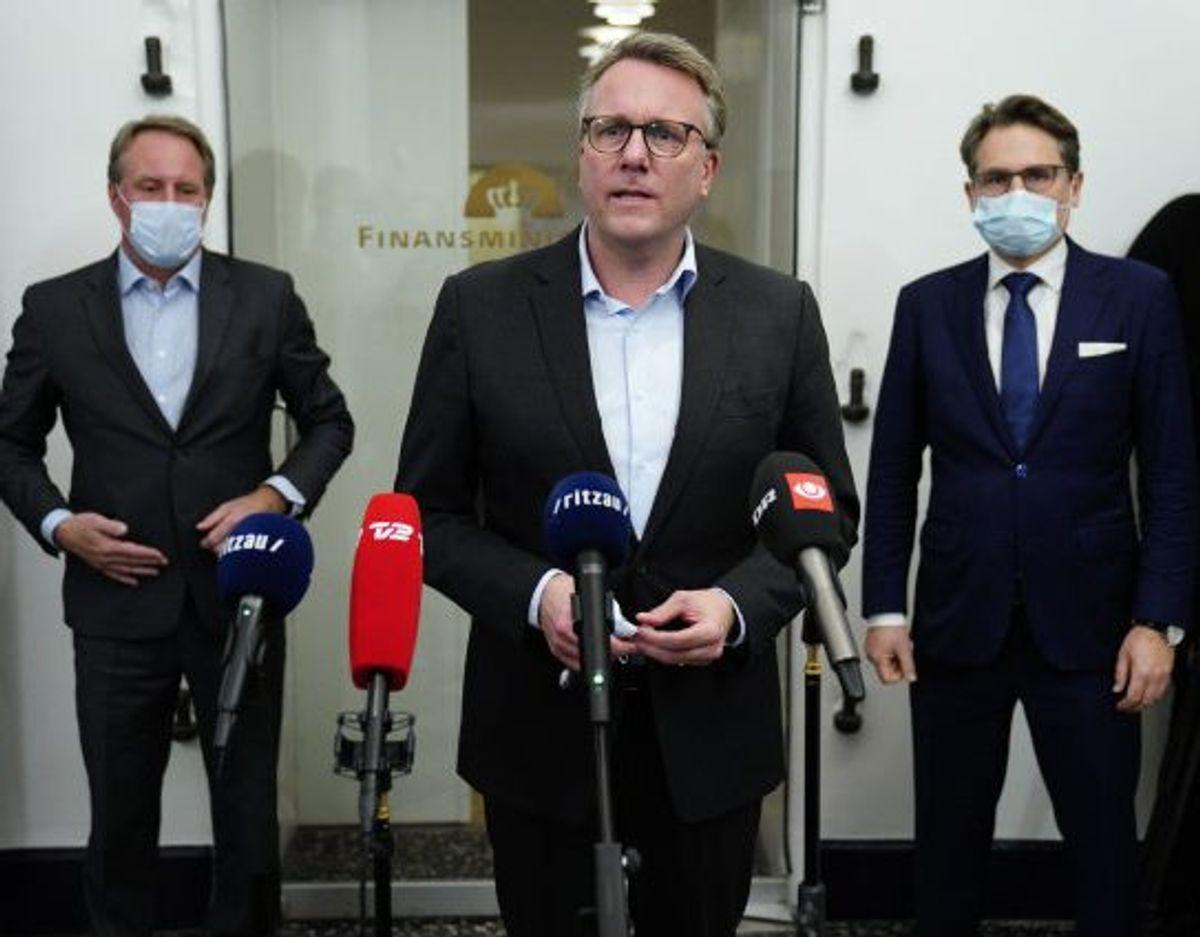 Fungerende finansminister Morten Bødskov (S) har onsdag sammen med erhvervslivet fortalt, at et coronapas er på vej til danskerne. Foto: Martin Sylvest/Scanpix