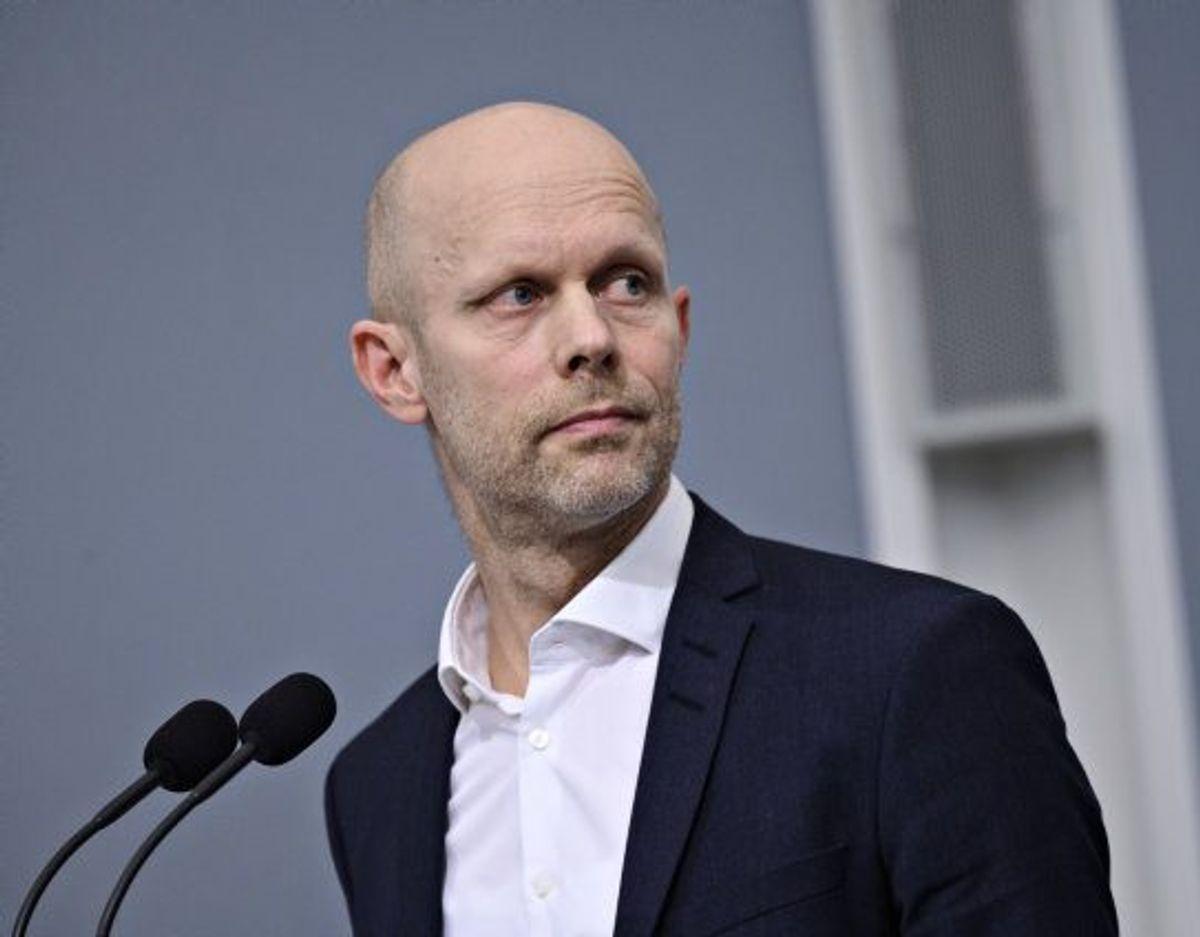 SSI's direktør, Henrik Ullum, fortæller til TV2, at kontakttallet for B117 er 1,1. (Arkivfoto) Foto: Philip Davali/Scanpix