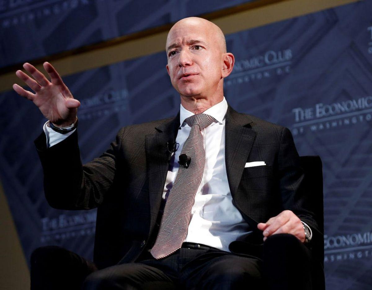 Jeff Bezos. Foto: Scanpix/Joshua Roberts