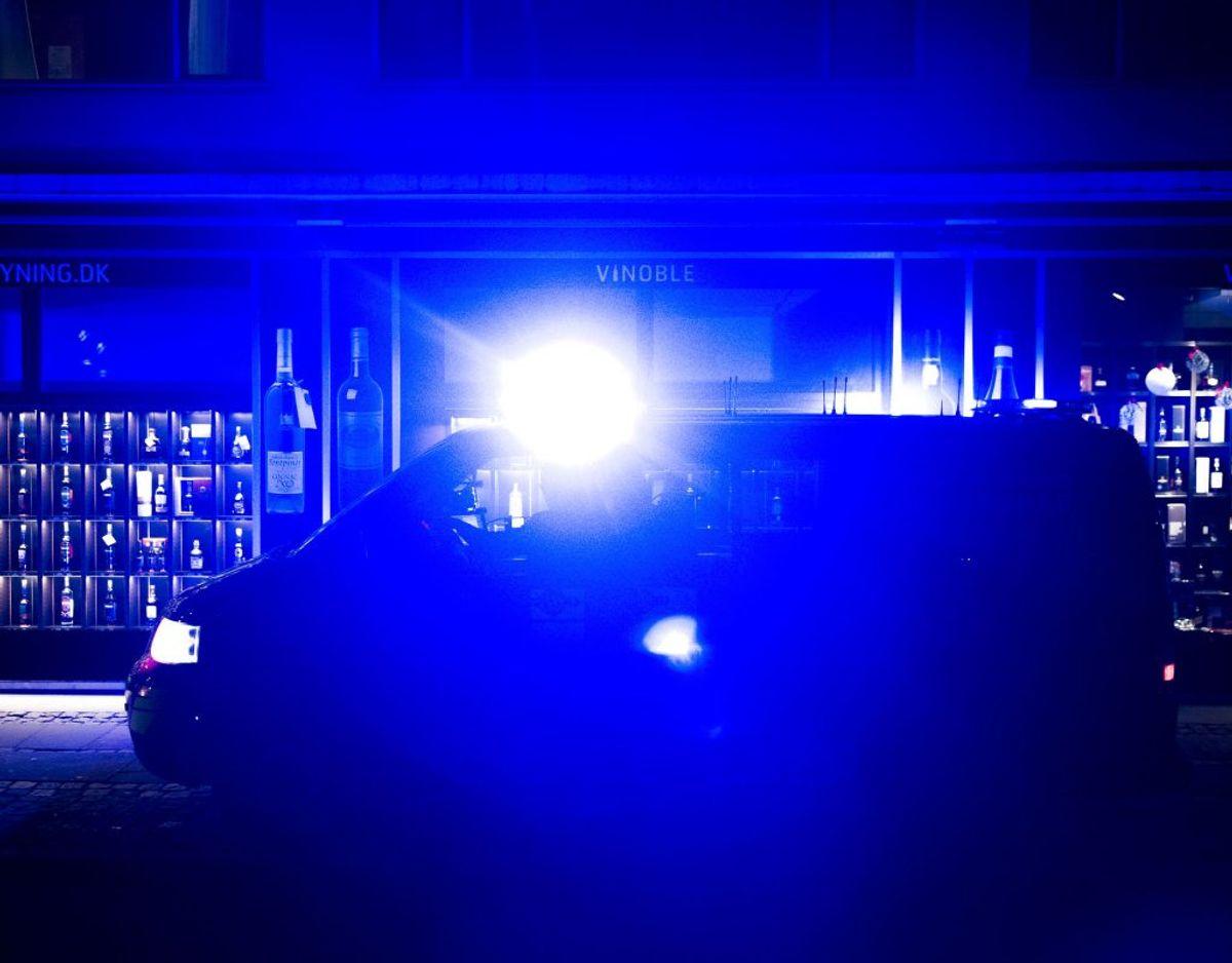 Mandag aften blev en 14-årig fyr stukket ned i Dyssegård. Foto: Ritzau Scanpix