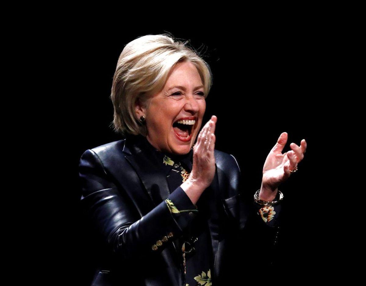 Hillary Clinton var en af mange, der bidrog til at latterliggøre 'Be Best' projektet. Foto: Scanpix/REUTERS/Mario Anzuoni