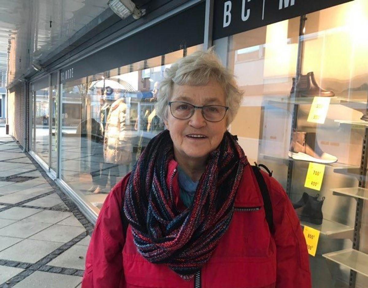 Ruth Møberg Jensen foretrækker kød men spiser varieret. Foto: Maiken Krongaard