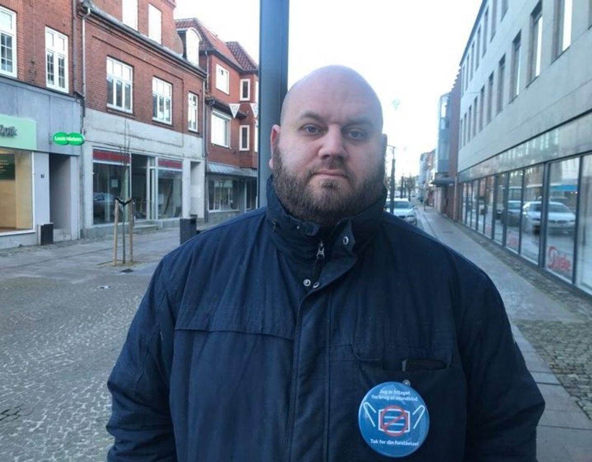 Casper Jakobsen har ikke tænkt sig at følge kostrådene. Foto: Maiken Krongaard