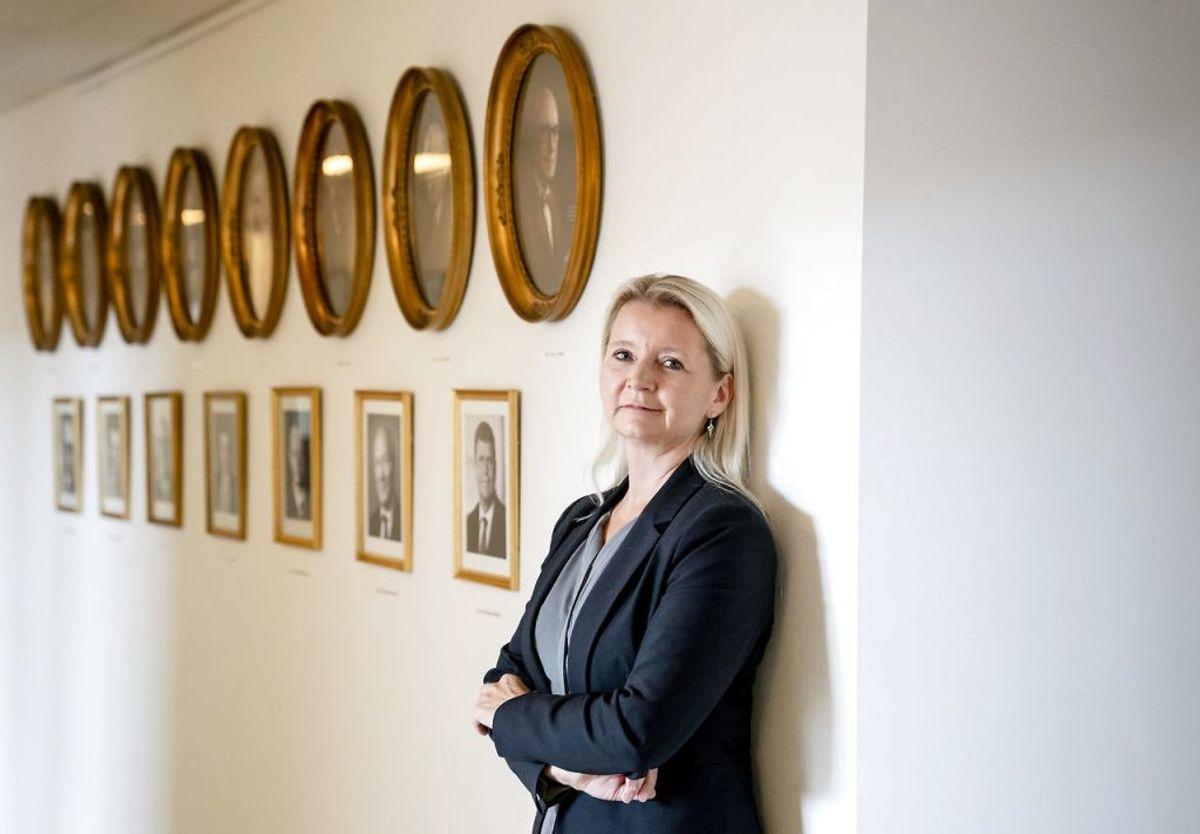 Direktør for kriminalforsorgen, Ina Eliasen, siger til Newsbreak.dk, at det er helt ekstraordinært at indføre tilsigelsesstop. foto: Scanpix