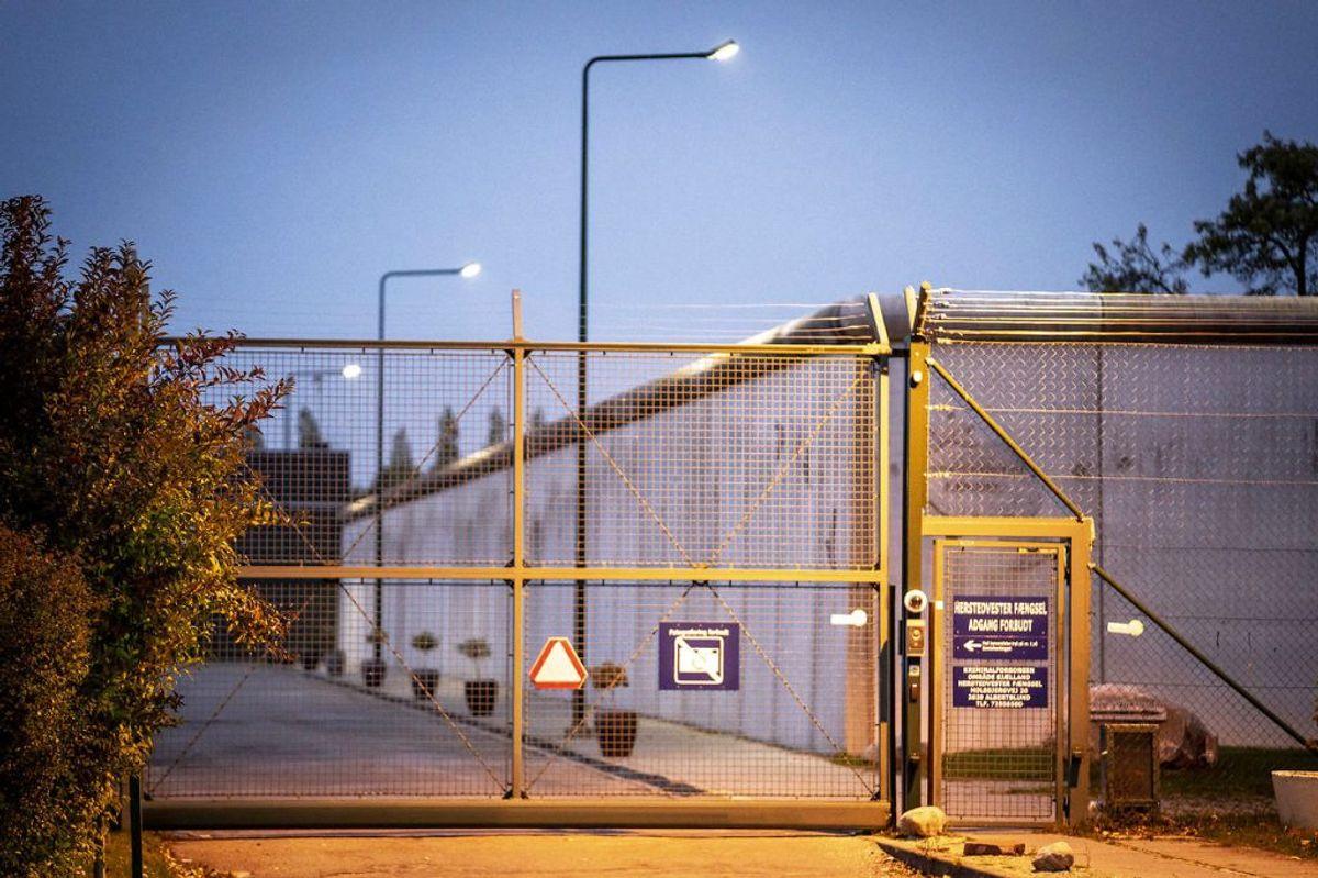 På grund af Covid-19 har Kriminalforsorgen ad to omgange måttet bede dømte om ikke at komme ind og brumme. (Foto: Mads Claus Rasmussen/Ritzau Scanpix)