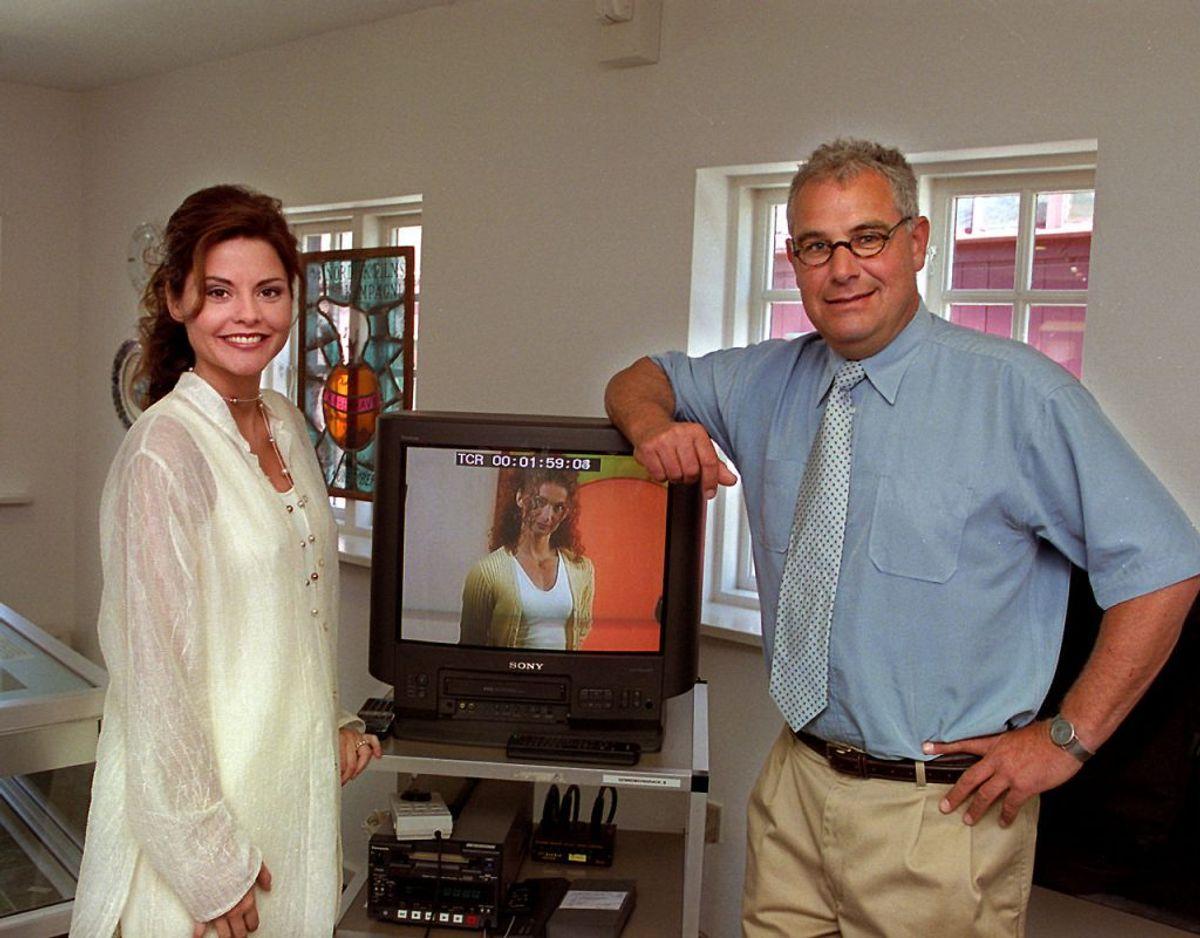 Maria Hirse indtog for alvor danskernes hjerter, da hun fra 1995 og skes år frem dannede makkerpar med Bengt Burg på Tv2's Lykkehjulet. Klik videre for flere billeder. Foto: Bent K Rasmussen/Nf-Nf/Ritzau Scanpix