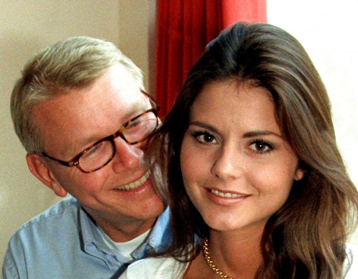 Maria Hirse har tidligere dannet par med forlagsmand Peter Asschenfeldt, som hun har datteren Viktoria med. Foto: Jørgen Jessen/Nf-Nf/Ritzau Scanpix
