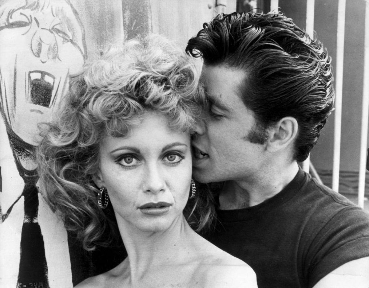 Olivia Newton-John og John Travolta anno 1978. Foto: NF/Ritzau Scanpix