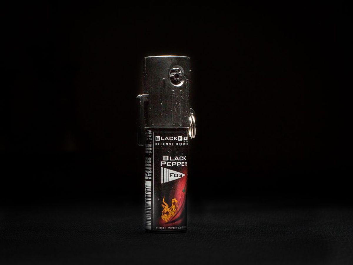 Politiet har siden 1. januar 2008 haft peberspray som en fast del af deres udrustning. Arkivfoto.