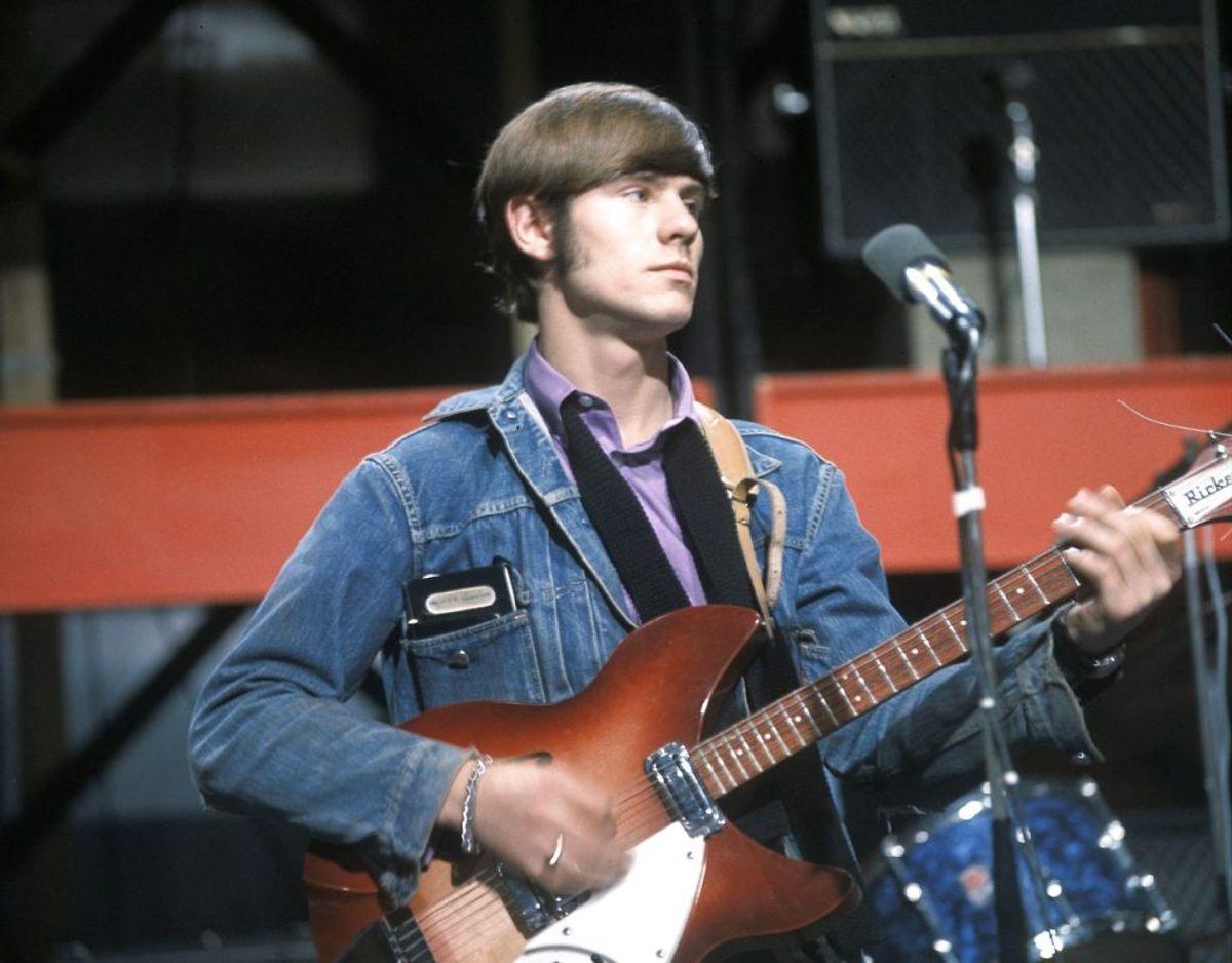 Hilton Valentine, legendarisk The Animal guitarist, døde fredag den 29. januar. Han blev 77 år gammel. Foto: Scanpix/Monitor Picture Library / Avalon