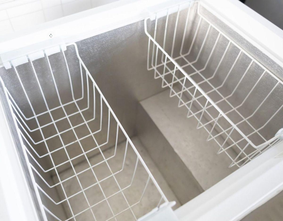 Hvis du har en fryser, så brug den. Der er mange penge at spare, hvis man køber ind til fremtiden eller gemmer rester. Foto: Colourbox