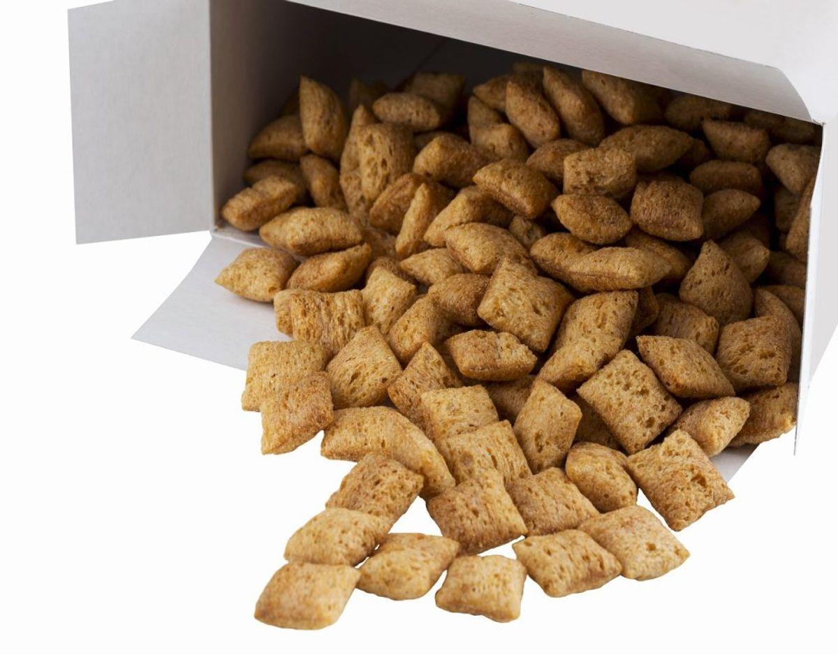 Lad være med at have ting stående åbent. Morgenmadsprodukter og lignende mister hurtigt smag og friskhed. Foto: Colourbox