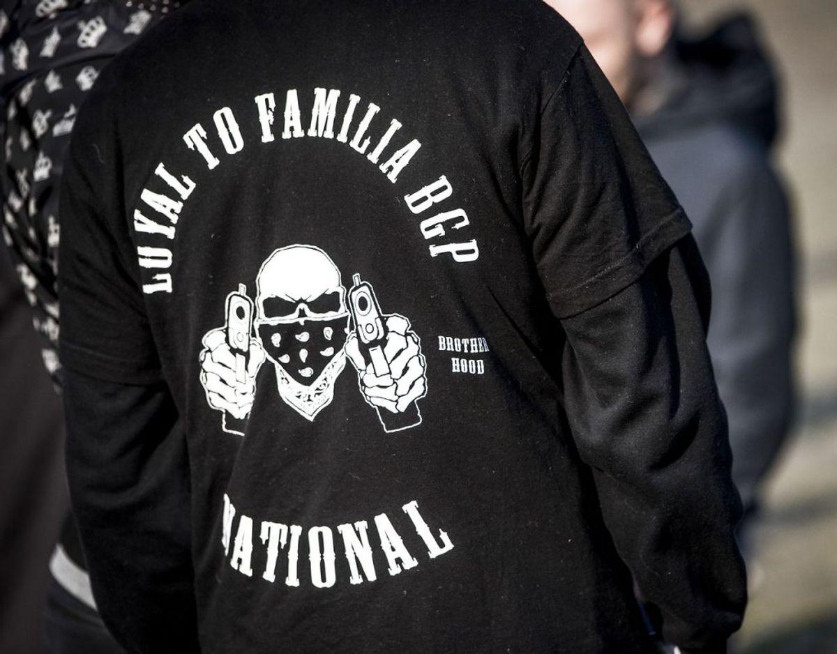 De ni har ifølge politiet alle været fuldgyldige eller prøvemedlemmer af ulovlige Loyal To Familia. (Foto: Scanpix)