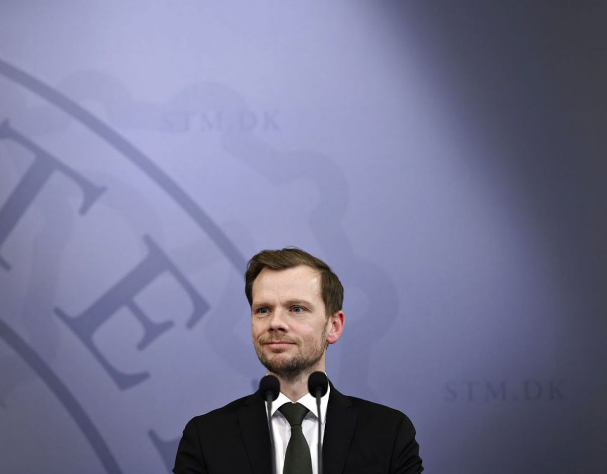 Beskæftigelsesminister Peter Hummelgaard. Foto: Philip Davali/Ritzau Scanpix