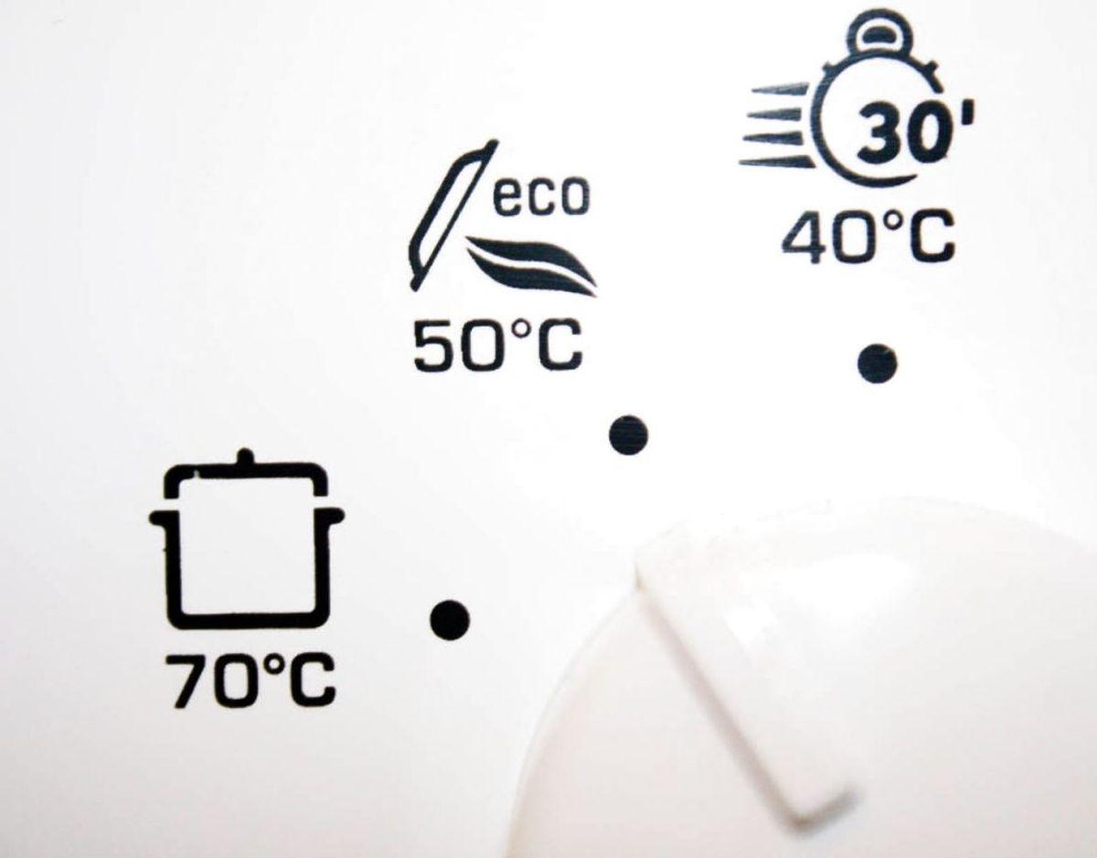 2) Vandet er ikke varmt nok. Det skal gerne være mindst 50 grader. Foto: Scanpix