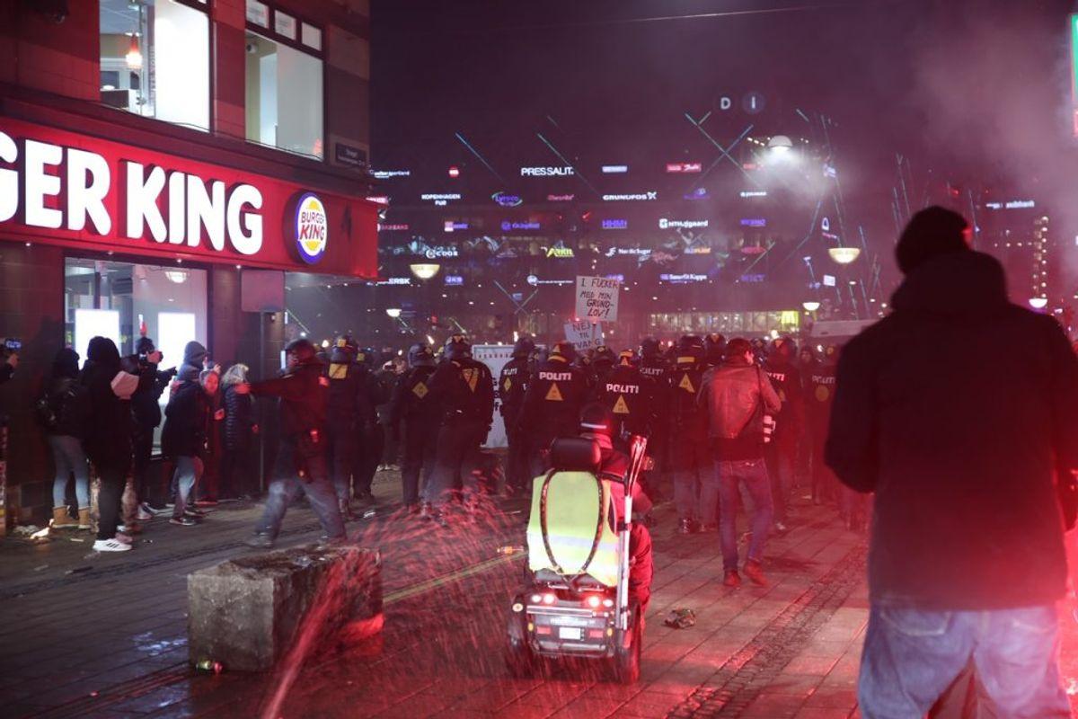 Demonstration i København. Klik for flere billeder. Foto: Presse-fotos.dk