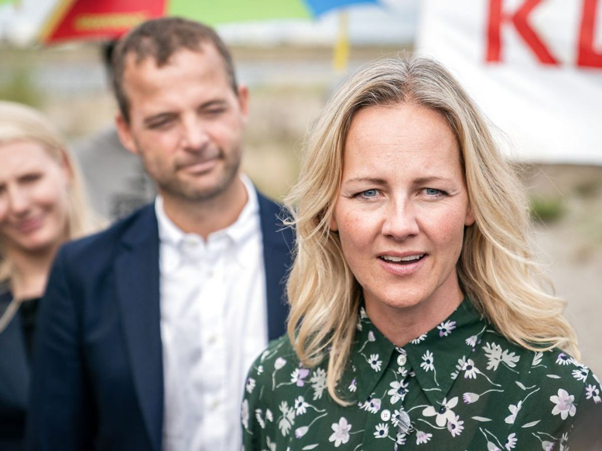 Ida Auken forlader Radikale og skifter til S.  (Foto: Niels Christian Vilmann/Ritzau Scanpix)