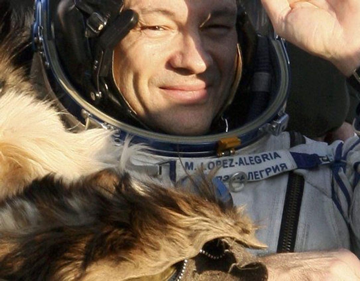 """Den spansk-amerikanske astronaut Michael Lopez-Alegria skal lede """"Ax-1""""-missionen til ISS. (Arkivfoto) Foto: Sergei Remezov/Reuters"""