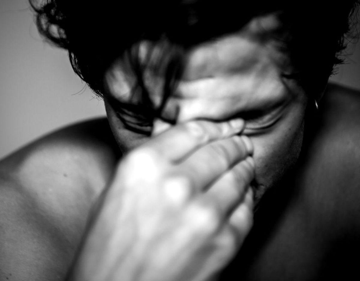 Angst er en udbredt psykisk lidelse i Danmark. KLIK VIDERE OG SE HVILKE TEGN, DER ER PÅ ANGST. Foto: Ólafur Steinar Gestsson/Ritzau Scanpix