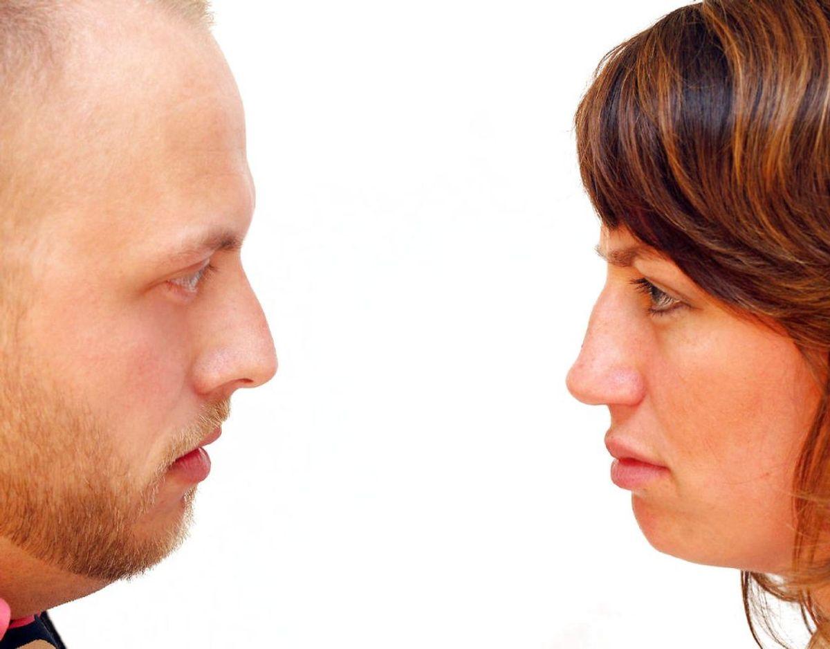 Hvis du bekymrer dig intenst om dit forhold, kan det også være et tegn på angst. Det samme gælder i venskaber. Hvis de bekymringer er så store, at de begynder at overtage dit liv, lider du formentlig af angst. Kilde: Good Housekeeping Foto: Scanpix