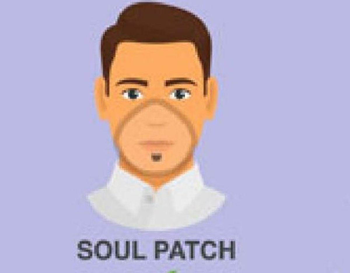 Den klassiske soul patch er helt i orden. Foto: CDC