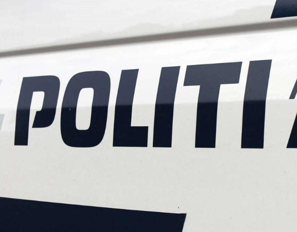 Politiet skriver, det er massivt til stede omkring Hou i Nordjylland. Arkivfoto