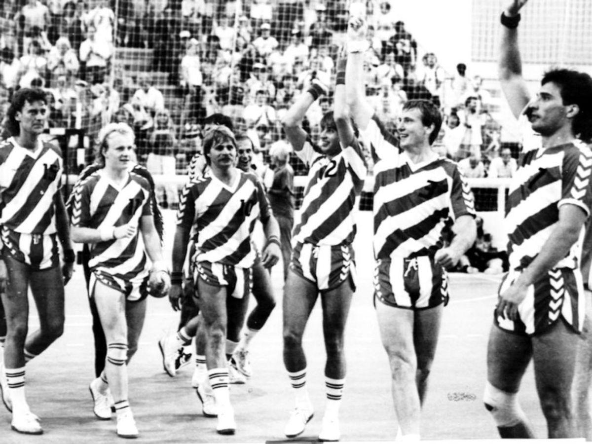 Fra OL i Los Angeles, 1984.Foto: Mogens Ladegaard/Ritzau Scanpix.