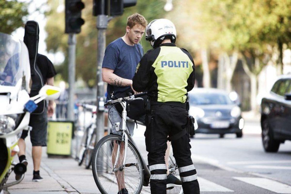 I galleriet her kan du se hvilke overtrædelser, der kan give dig en bøde som cyklist. Foto: Scanpix