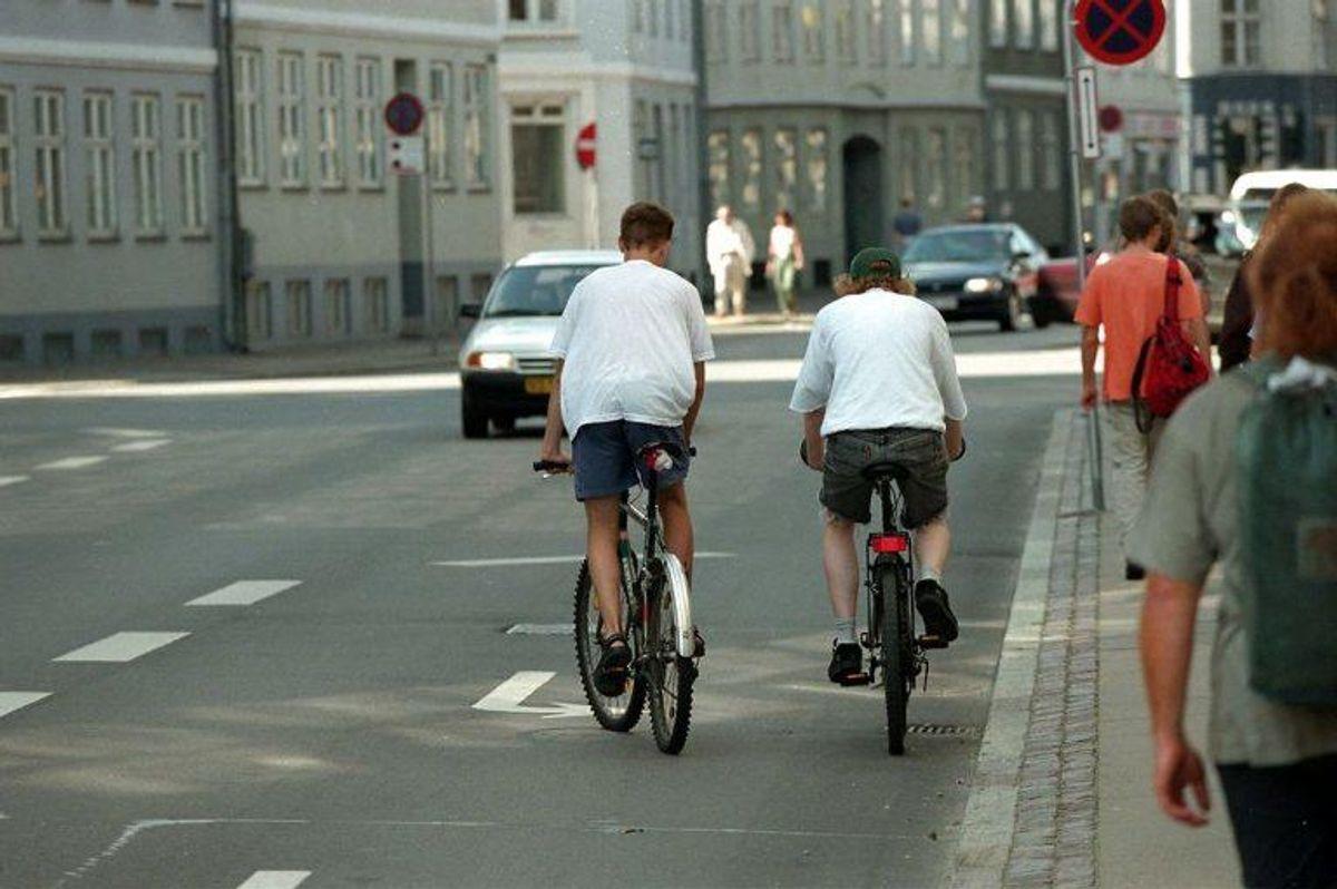 5: Det koster 1.000 kroner at blive snuppet i at køre mod færdselsretningen. Foto: Jøgen Jessen/Scanpix