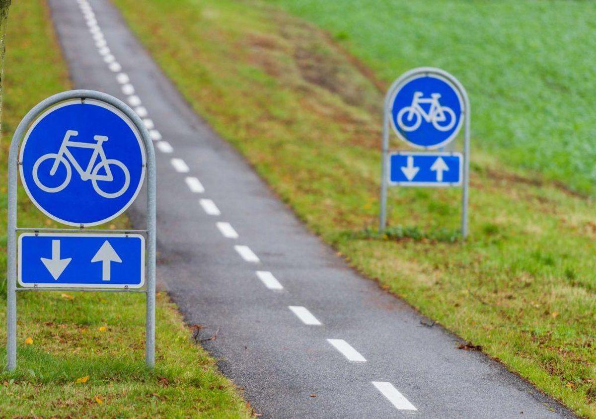 15: Hvis man kører den forkerte retning på en cykelsti, koster det 700 kroner.