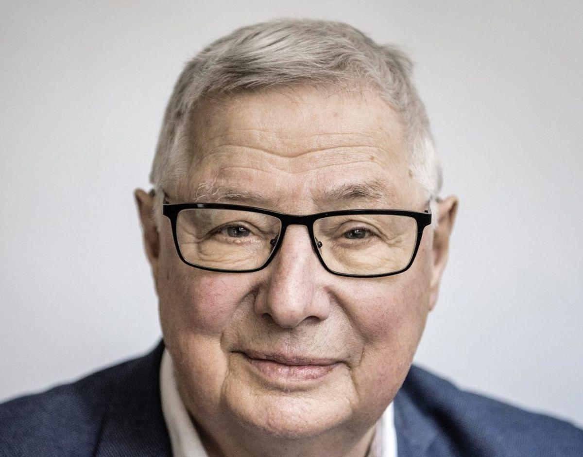 Erik Norman Svendsen fylder 80 år 27. januar. Arkivfoto: Thomas Lekfeldt/Ritzau Scanpix