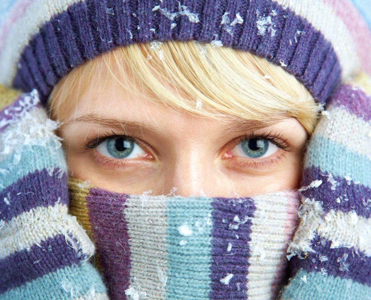 Hav varmt tøj og fornuftigt fodtøj i bilen. Kilde: FDM. Arkivfoto.