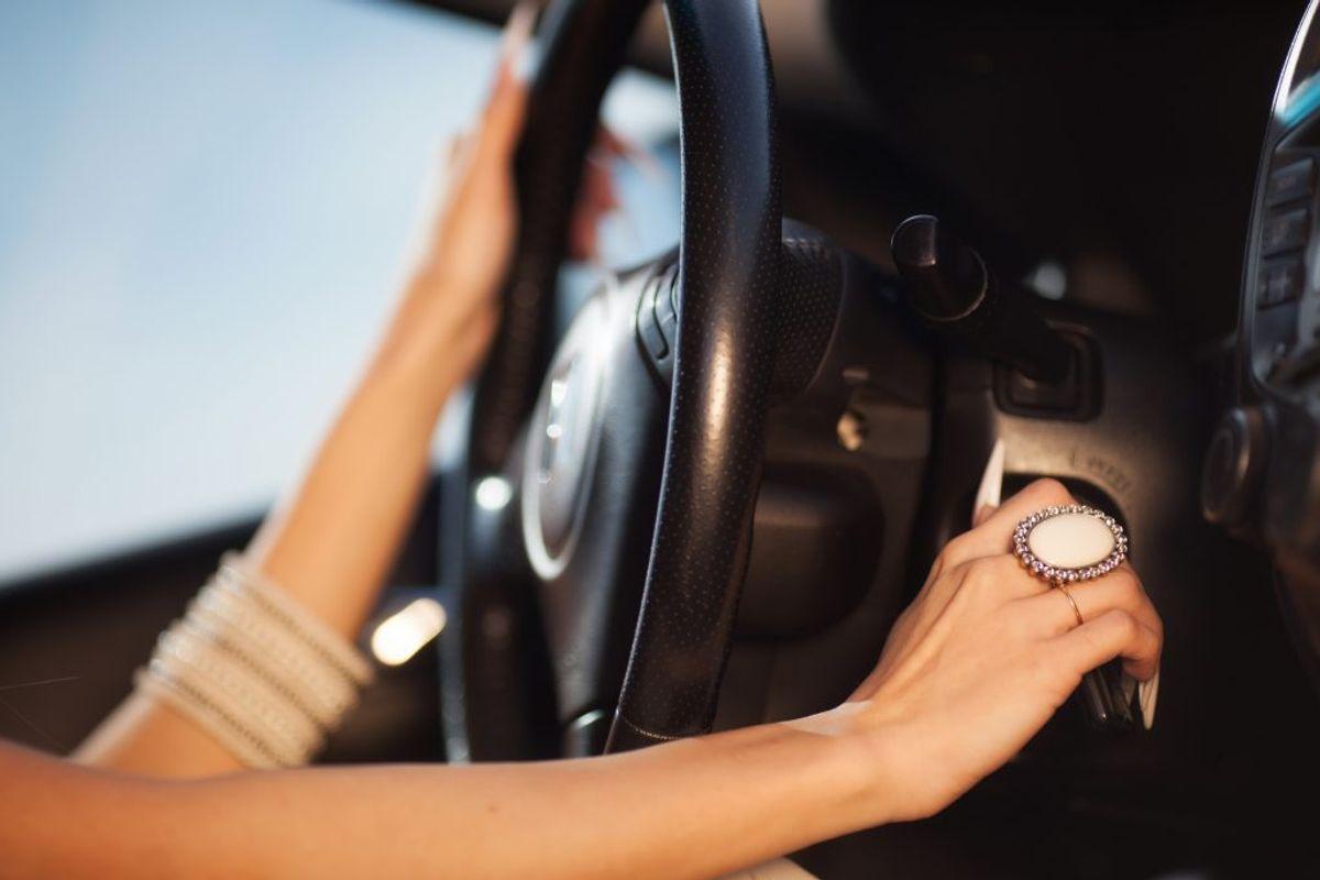 Kør i god tid, pas på farten og hold afstand. Kilde: FDM. Arkivfoto.
