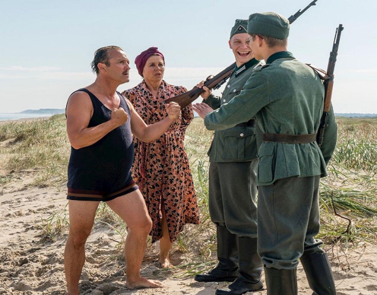 Tyske soldater er også en del af denne sæson. Foto: Mike Kollöffel/TV 2.