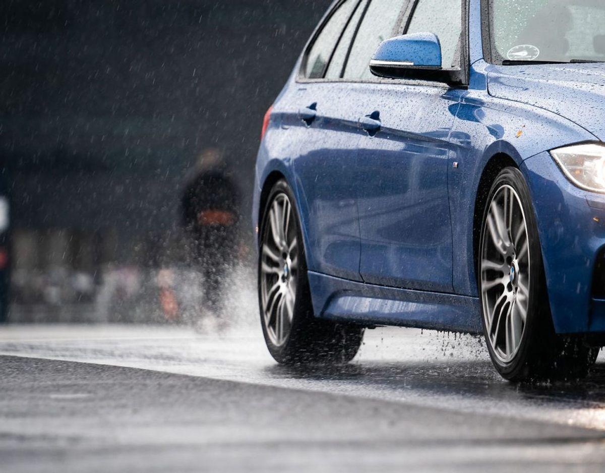 Regn, regn og atter regn. Det er vejrmenuen for onsdag. (Foto: Emil Helms/Ritzau Scanpix)