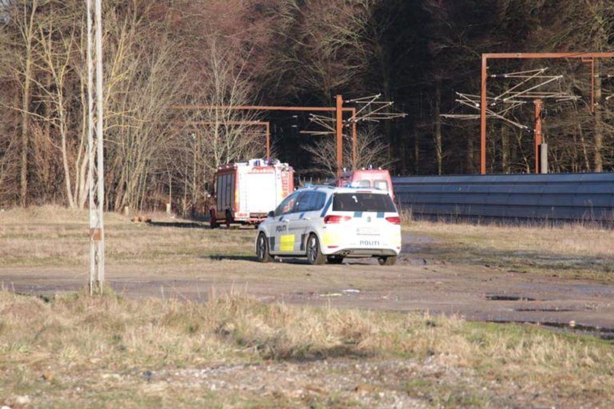 Her blev manden fundet. Foto: Presse-fotos.dk.