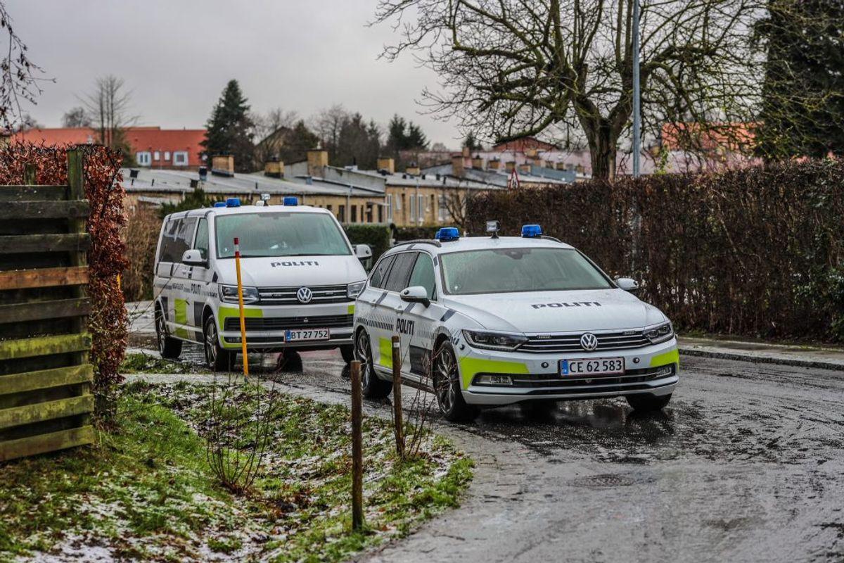 Politiet mener, at episoden var planlagt. Foto: Presse-fotos.dk